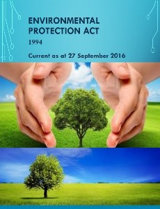 Environmental Protection Act 1994 : Current as at 27 September 2016
