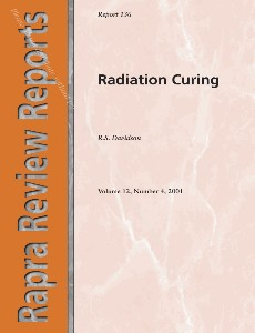Radiation Curing (Rapra Review Reports 136), Volume 12, Number 4, 2001