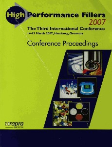 High Performance Fillers 2007 The Third International Conference