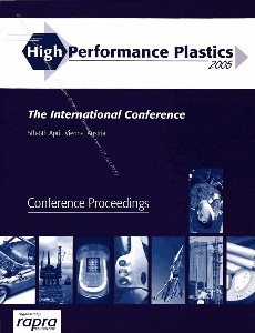 High Performance Plastics 2005 International Conference