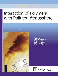Interaction of polymers with polluted atmosphere nitrogen oxides