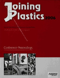 Joining Plastics 2006 Conference Proceedings Second International Conference on Joining Plastics