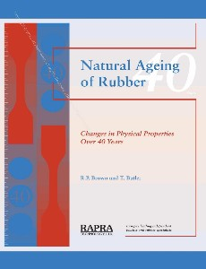 Natural Ageing of Rubber Changes in Physical Properties Over 40 Years
