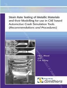 Strain Rate Testing of Metallic Materials and their Modelling for use in CAE based Automotive Crash Simulation Tools (Recommendations and Procedures)