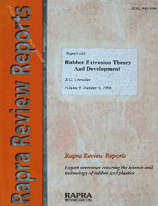 Extrusion Theory and Development (Rapra Review Reports 105), Volume 9, Number