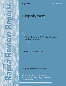 Biopolymers (Rapra Review Reports 159), Volume 14, Number 3, 2003