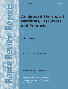Analysis of Thermoset Materials, Precursors and Products (Rapra Review Reports 162), Volume 14, Numb